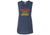 "ACL Women's Tank ""Sunset"" Heather Navy"