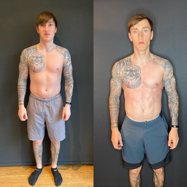 The 12 Week Transformation of PT Michael Stephens