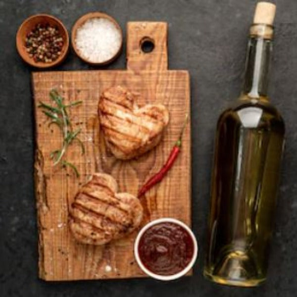 A few tasty recipes that you could use on Valentine's Day