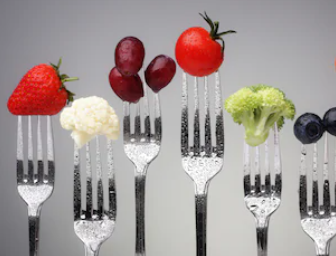 Fruit on a Fork - A Lovely Healthy Snack