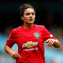Jess Sigsworth In Action For Manchester United