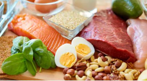 Lean Meat, Eggs & Nuts Are All Excellent Sources of Protein