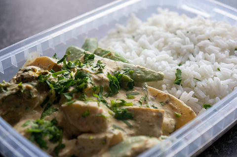 Thai Turkey Green Curry - A Traditional, Asian Dish