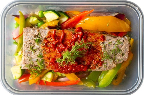 Turkish Meatloaf, A Popular Dish Amongst Body Builders
