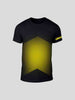 Leeds Black Chevron Fade T-Shirt