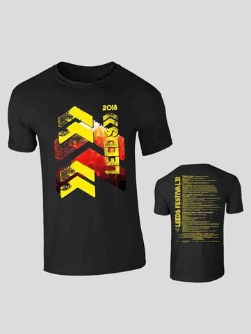 Leeds 2018 Black Event T-Shirt