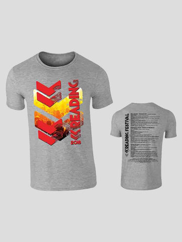 Reading 2018 Grey Event T-Shirt