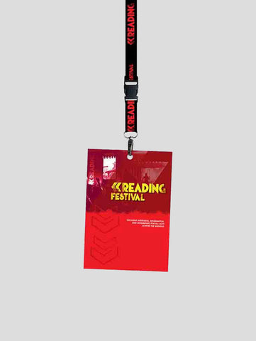 Reading 2018 Lanyard Programme Pack