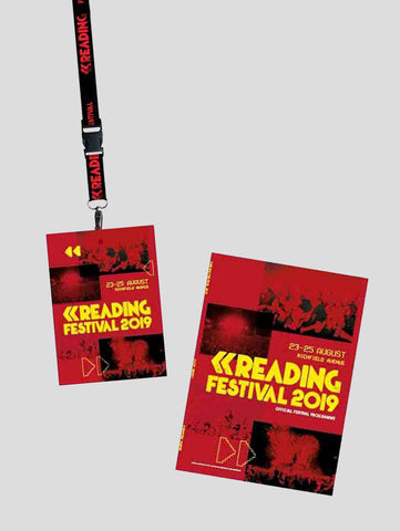 Reading 2019 Lanyard Programme Pack