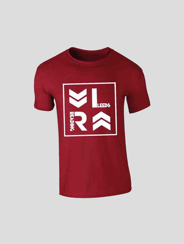 Red Stacked Logo T-Shirt