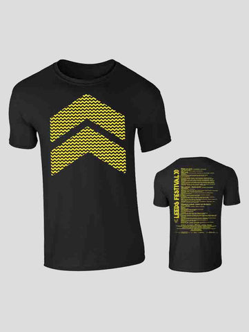 Leeds 2018 Chevron Event T-Shirt