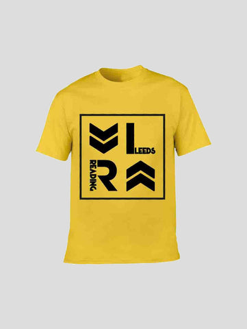 Yellow Stacked Logo T-Shirt