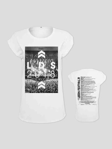 Leeds 2018 Crowd Event Ladies T-Shirt