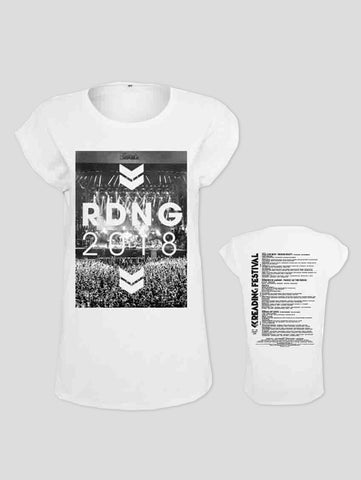 Reading 2018 Crowd Event Ladies T-Shirt
