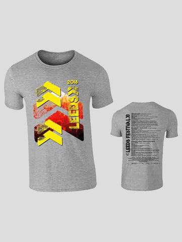 Leeds 2018 Grey Event T-Shirt