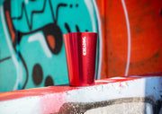Reading Red Logo Metal Cup