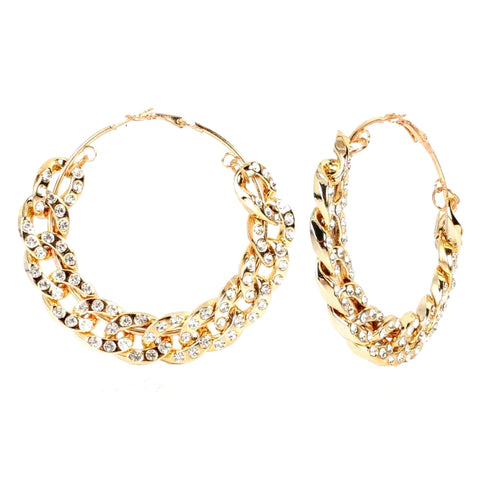 Bossy Hoop Earrings