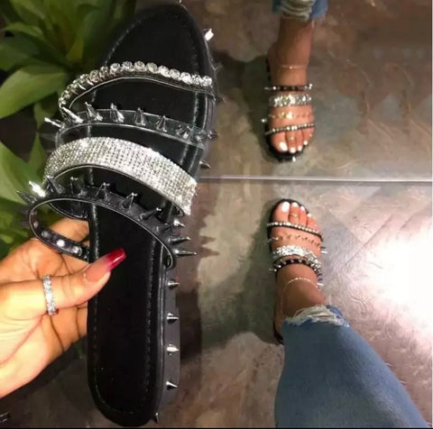 Spikes and Glam Sandal