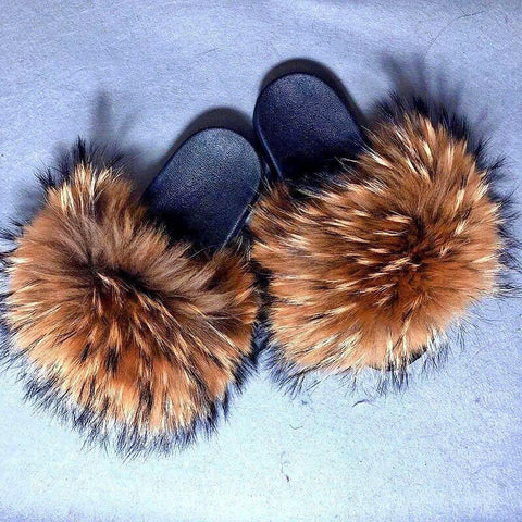 Camel Fluffy Slides