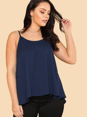 Plus Swing Longline Cami Top