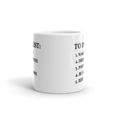 """To Do List"" Coffee Mug"