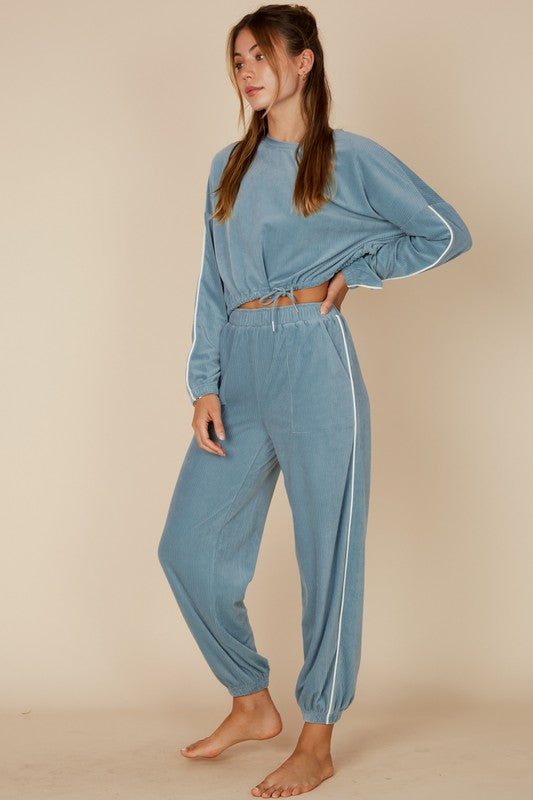 Ellie Blue Joggers