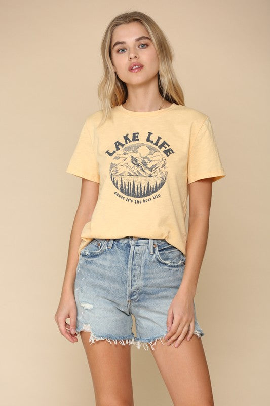 Lake Life Graphic Tee