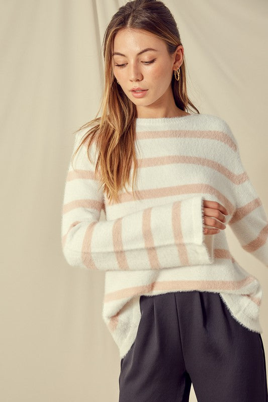 Back Tie Sweater