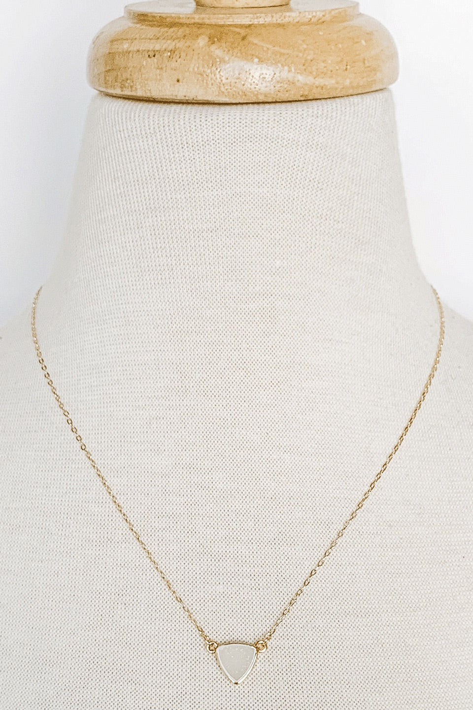 Emily Triangle Necklace