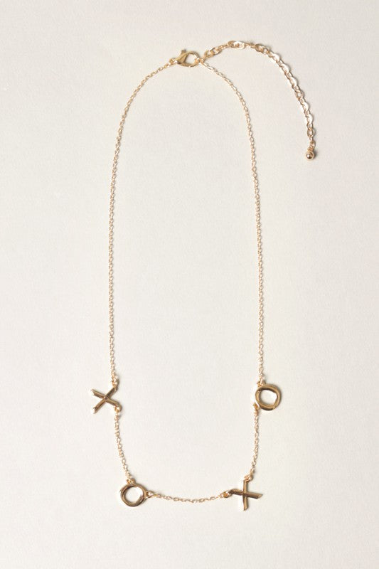 XOXO Necklace