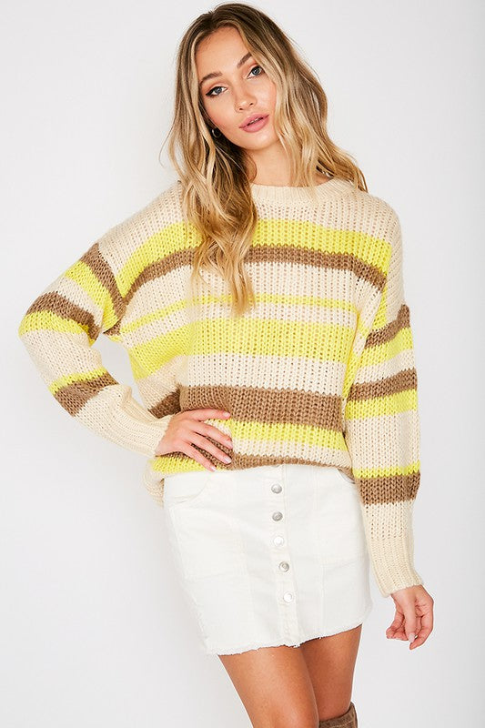 Blair Striped Sweater