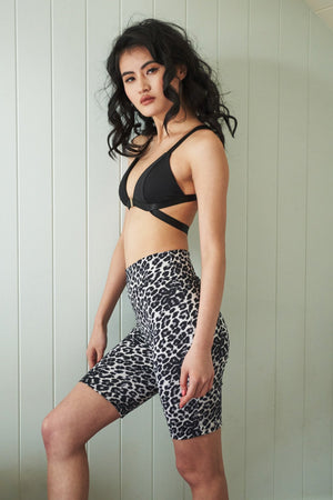 LUNA | ZETA LEOPARD BIKE SHORTS