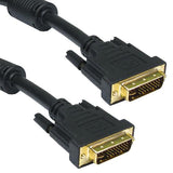 DVI-I Cable Dual Link w/Ferrite Male to Male CL3/CSA/FT4 - EWAAY.COM