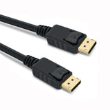 DisplayPort Cable Male to Male w/Latches v1.2 4K 60Hz - EWAAY.COM