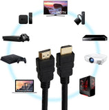 Plenum-Rated (CMP) High Speed HDMI Cable w/Ethernet 24AWG - EWAAY.COM