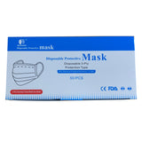3Fly Medical Disposable Face Mask - FDA Certified (50 Mask) - EWAAY.COM
