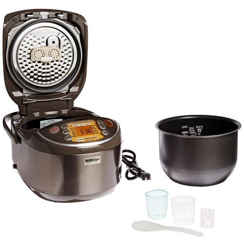 Zojirushi Induction Heating Pressure Rice Cooker & Warmer NP-NVC10/NP-NVC18 - EWAAY.COM