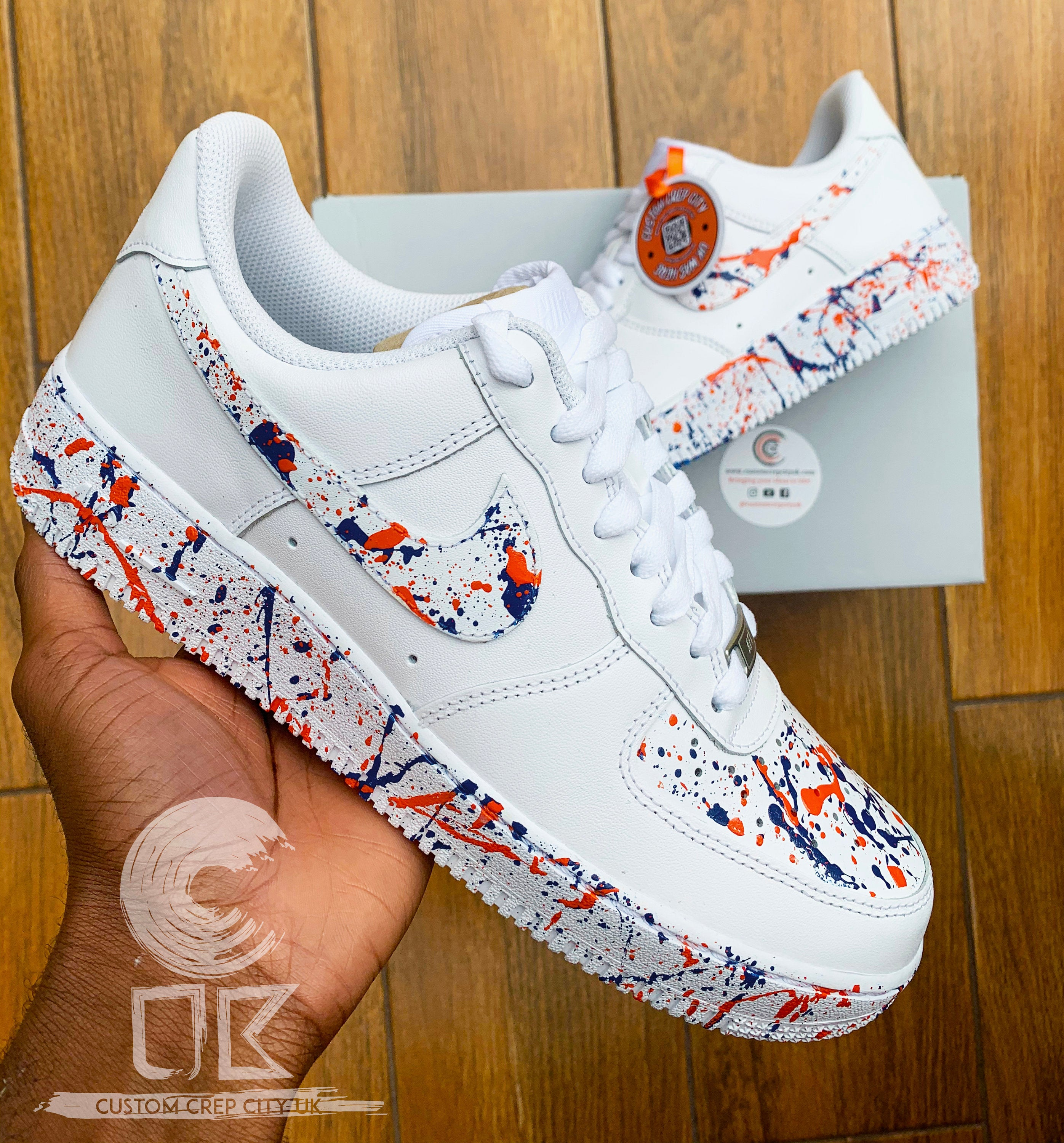 Air Force 1 splash