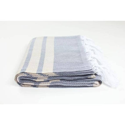 Premium Turkish Herringbone Pattern Towel