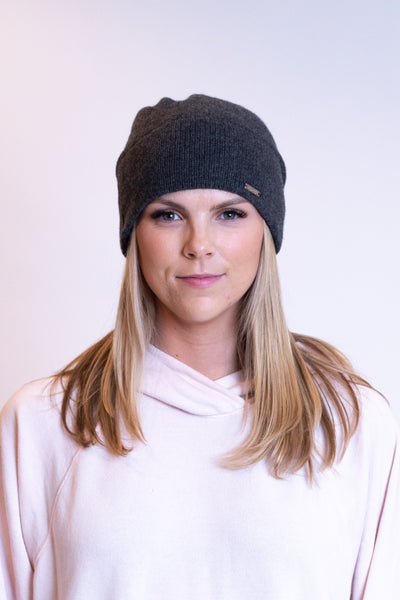 Grey cashmere Free People Beanie