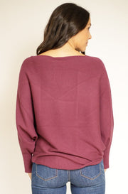 Rich Bordeaux Sweater