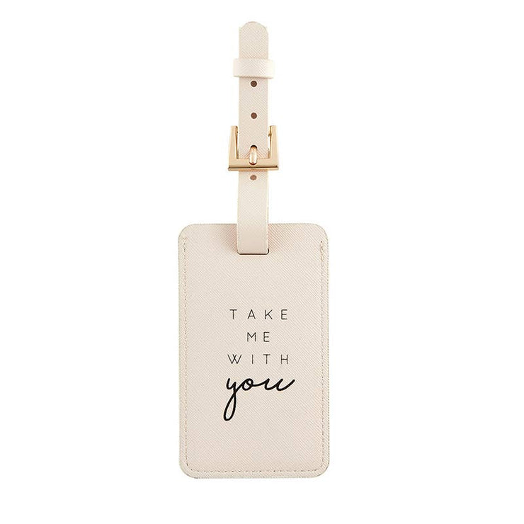 Take Me With You Luggage Tag