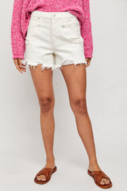 Free People Makai Shorts- White