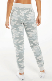Winter White Camo Joggers