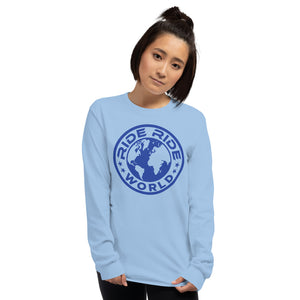 RRW Blue Medallion Long Sleeve Shirt