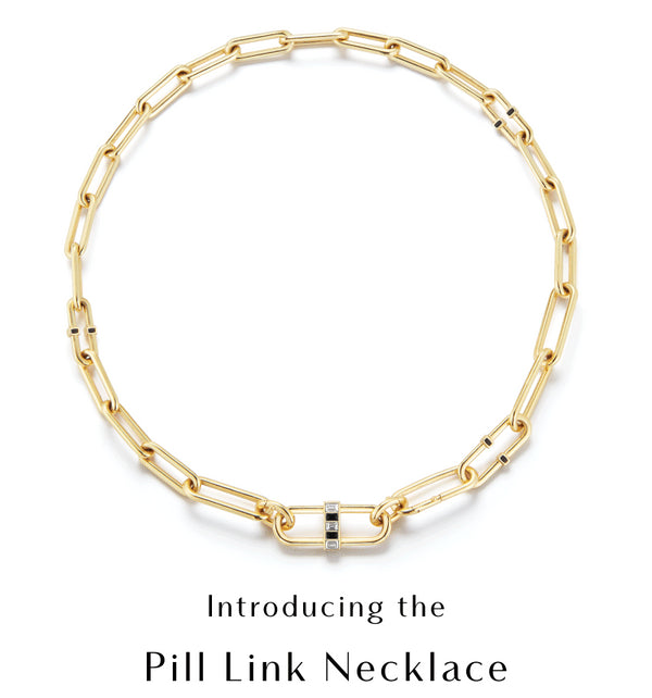 Introducing The Pill Link Necklace