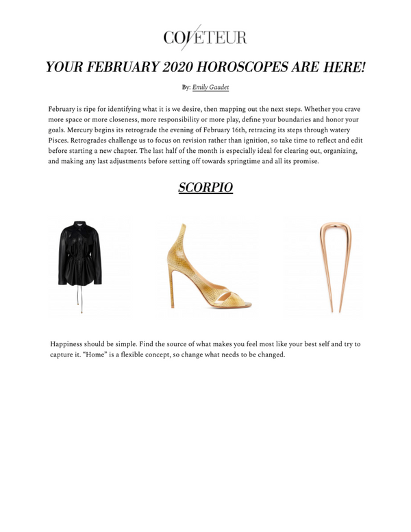 Coveteur: 2020 Horoscopes