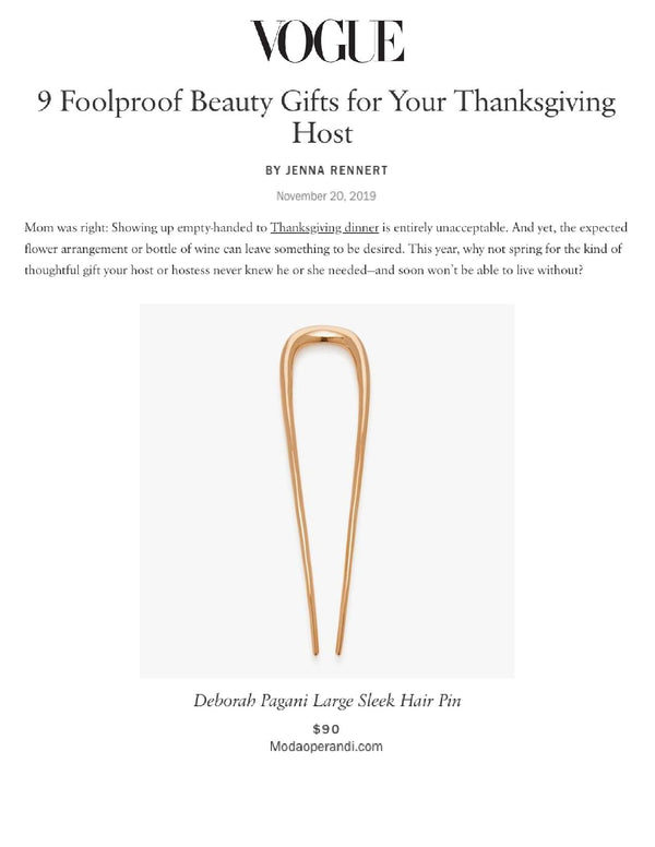 9 Foolproof Beauty Gifts for Your Thanksgiving Host