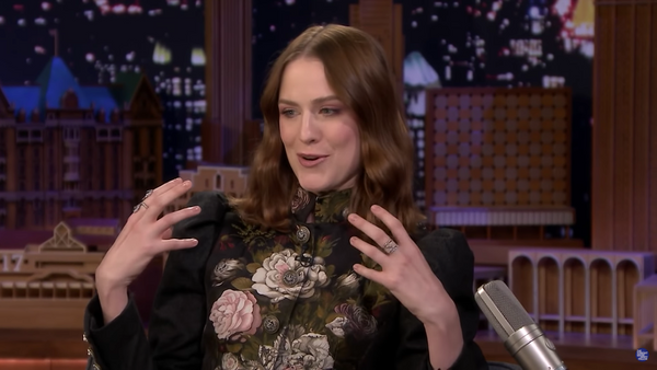 Evan Rachel Wood on Jimmy Fallon
