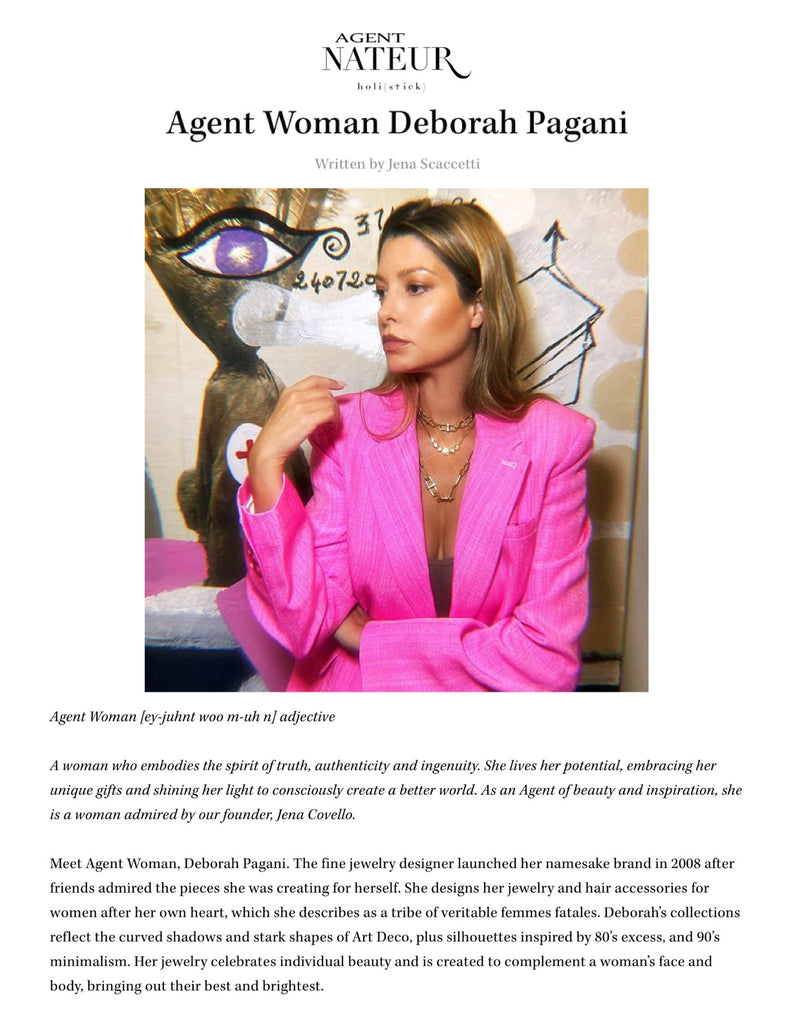 Agent Woman Feature 3.22.21